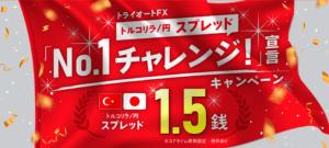 トライオートFXキャンペーン